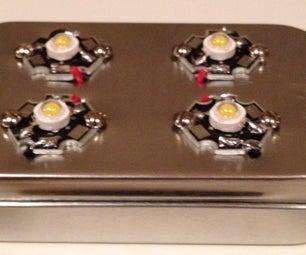 MintyStrobe2 - an Adjustable Strobe Light in an Altoids Tin