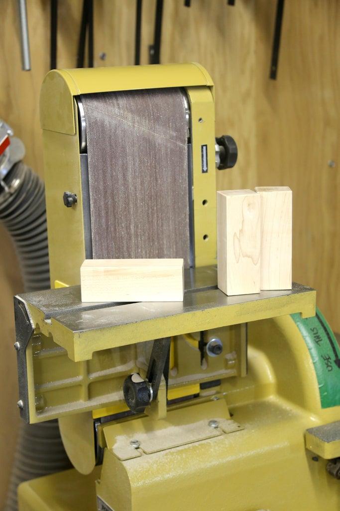 Prepping Wood