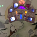 DIY Pressure Sensor:  Rainbow Effect Haunted House
