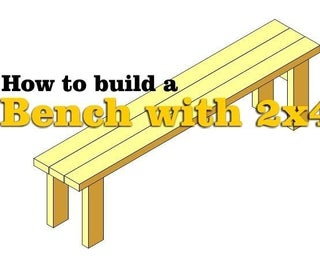 How to Build a Bench With 2x4s – With Plans