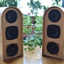 High End DIY Stereo Wooden Speakers