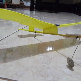 Foam Plate Glider