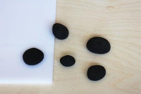 Clay Stone Shapes