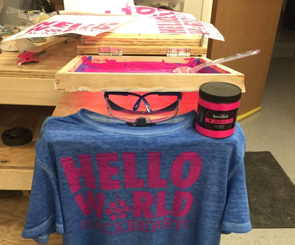 4-Color Screen Printing for Under $50