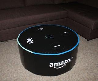 Amazon Echo Dot Coffee Table