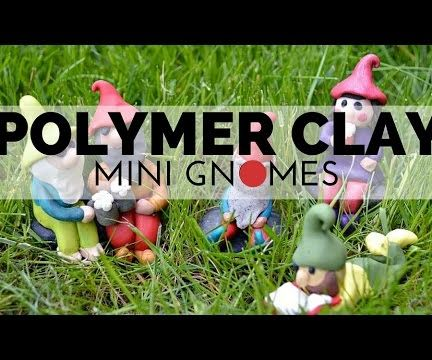 Polymer Clay Gnomes