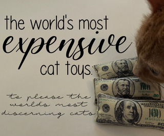 The World's Most Expensive Cat Toys