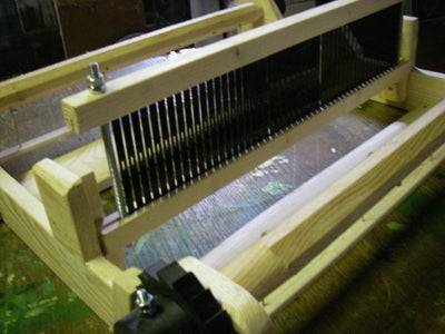 Assembly of the Weaving Comb