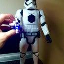 Storm Trooper Vs. Bluetooth Speaker