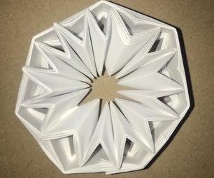 Easy Origami装饰星设计适用于所有年龄段