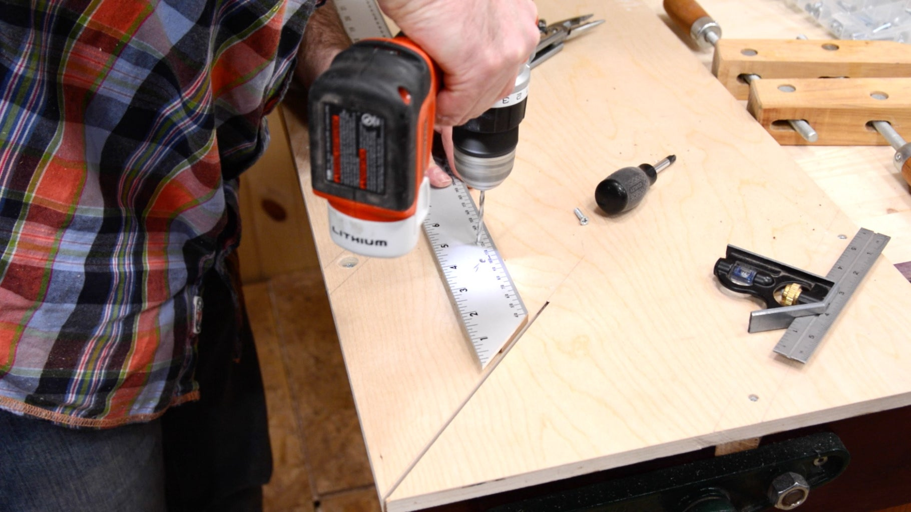 Step 13: Attach Ruler to Base