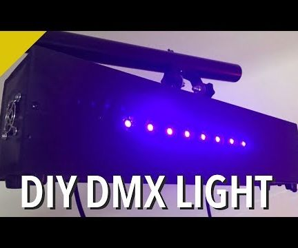 Build Your Own DMX Fixture - Arduino