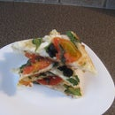 Spectacular Stacked Phyllo Pizza Snack