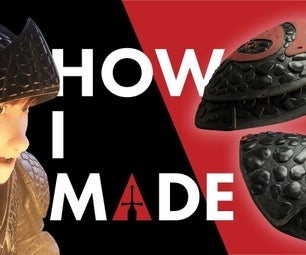 Hiccups Dragon Scale Pauldrons - Hiccup Cosplay - How to Train Your Dragon 3 Hidden World (HTTYD3)
