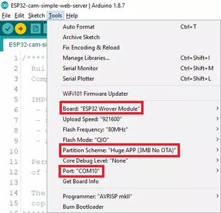 ESP32 Arduino IDE Setup