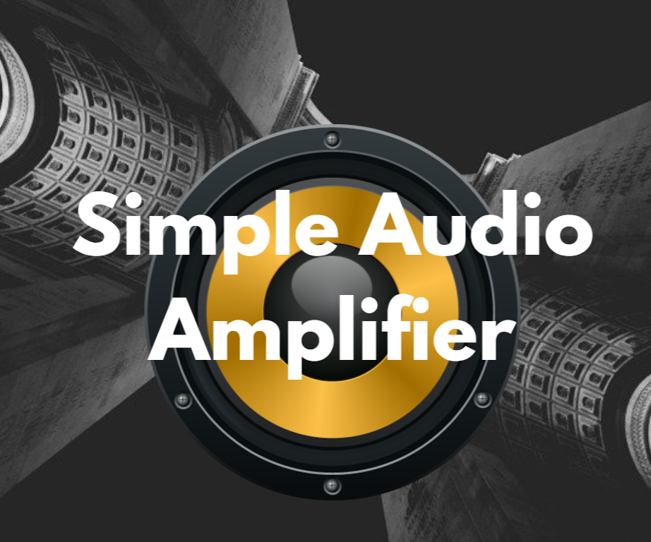 Simple Audio Amplifier with LM386
