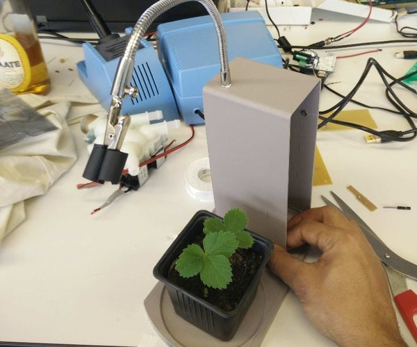 Automated House Plant Care. Flora First Aid