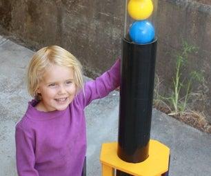 Túnel De Viento Vertical Para Juguetes Y Pelotas Para Niños