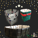 How to reuse Newspaper: Baskets