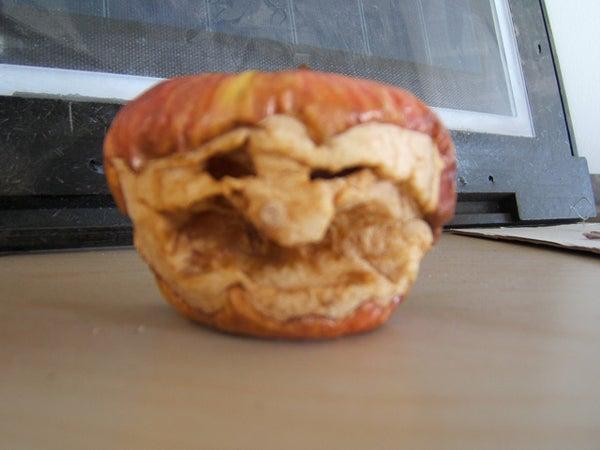 Spooktacular Carved Apple