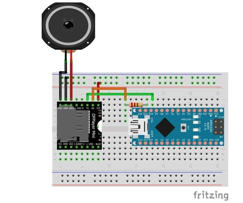 How to Use the DFMini Player MP3 Module With Arduino