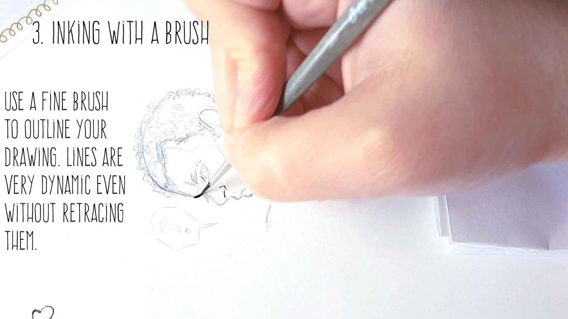 3) Brush