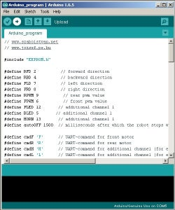 Upload Arduino Program and Android App