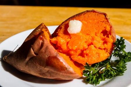 Enjoy Your Sweet Potato!