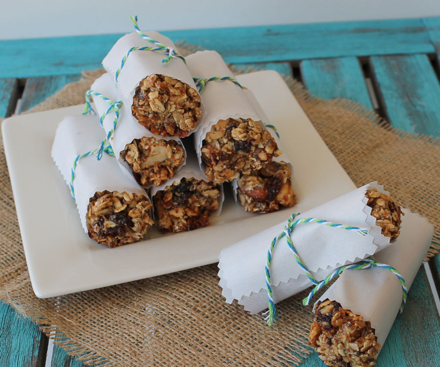 Nuts, Fruit and Protein Granola Bars!
