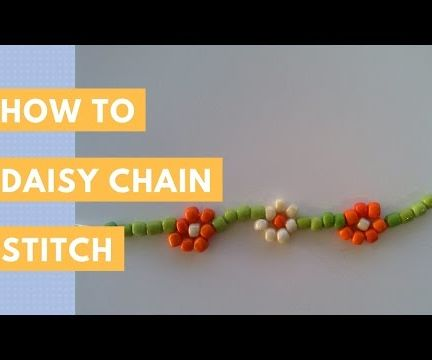 Daisy Chain Stitch | How To