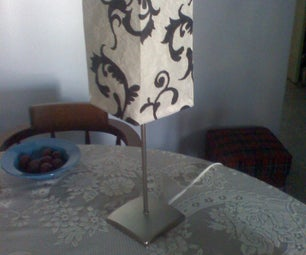 """Ikea Lamp Makeover. """"As Is"""" Item Just Got BETTER."""