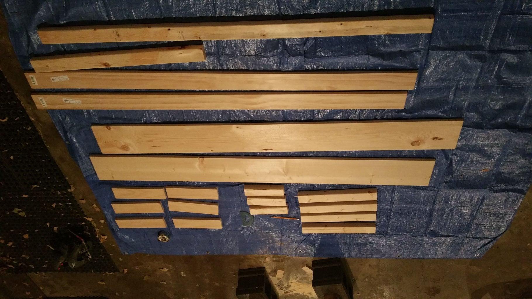 Cutting the Lumber