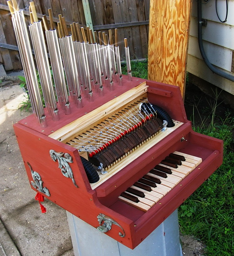 Mini-Calliope Organ