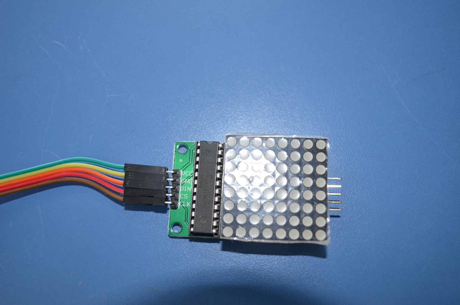 Wiring the LED