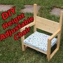 DIY Kid Chair (Height Adjustable)