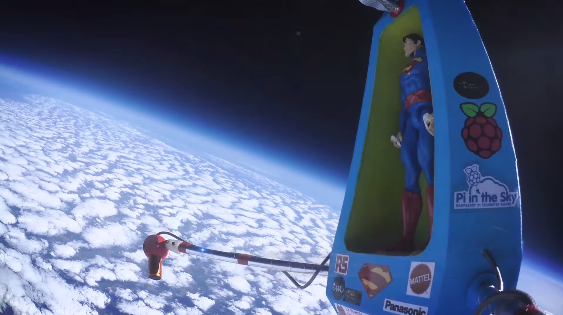 """""""To Infinity & Beyond!"""" [Making a Correx SpacePod to Boldly Go to Space and Back]"""