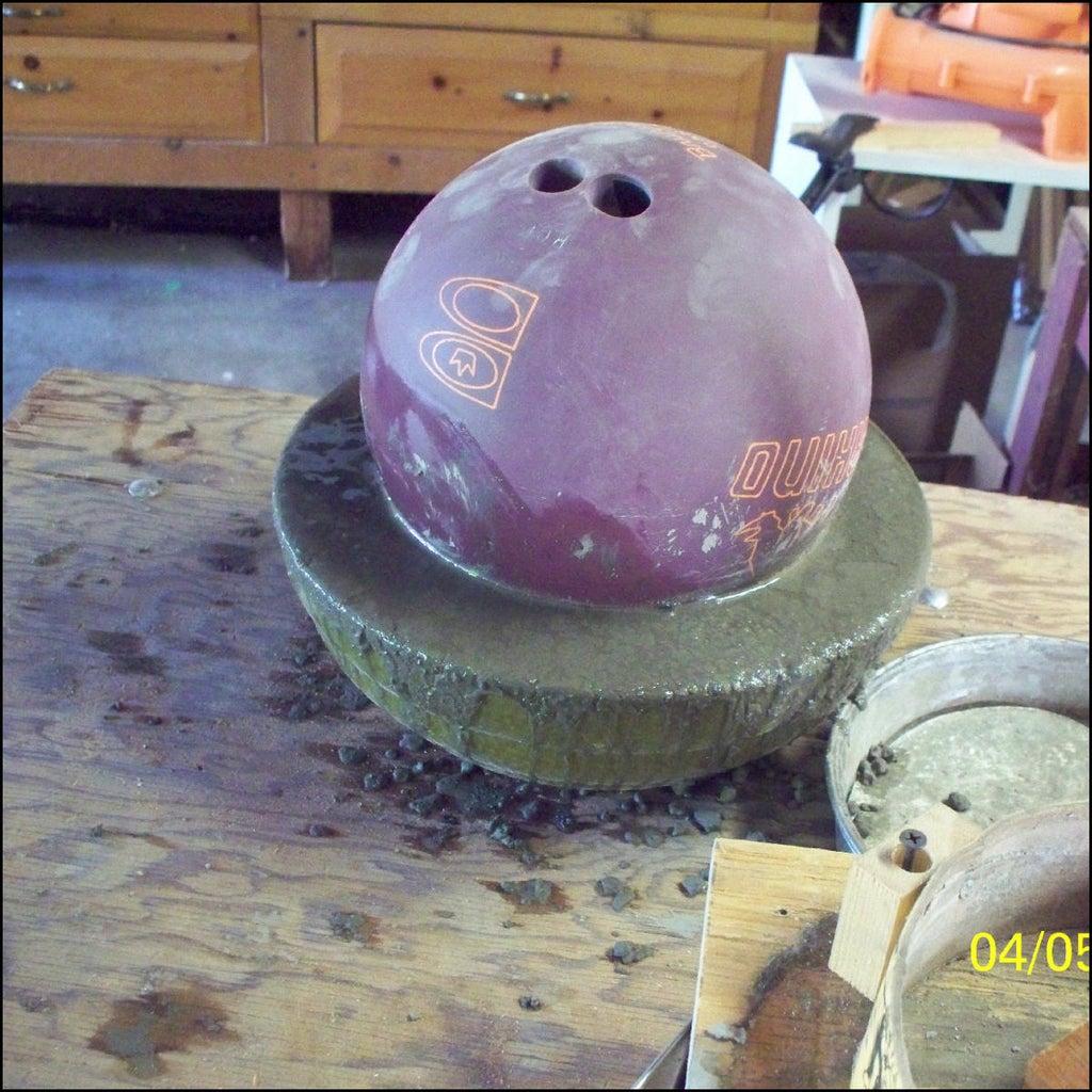 Mix Concrete and Pour Into Mold