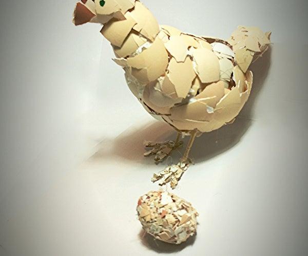 Make an Eggshell Sculpture !