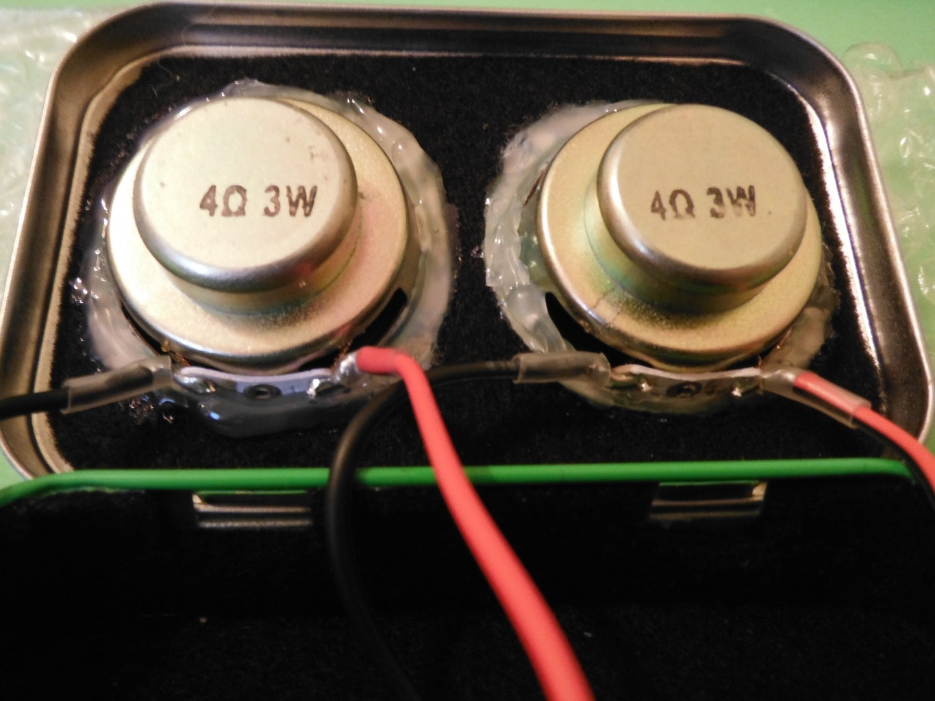 Mount and Solder Speakers and Jacks