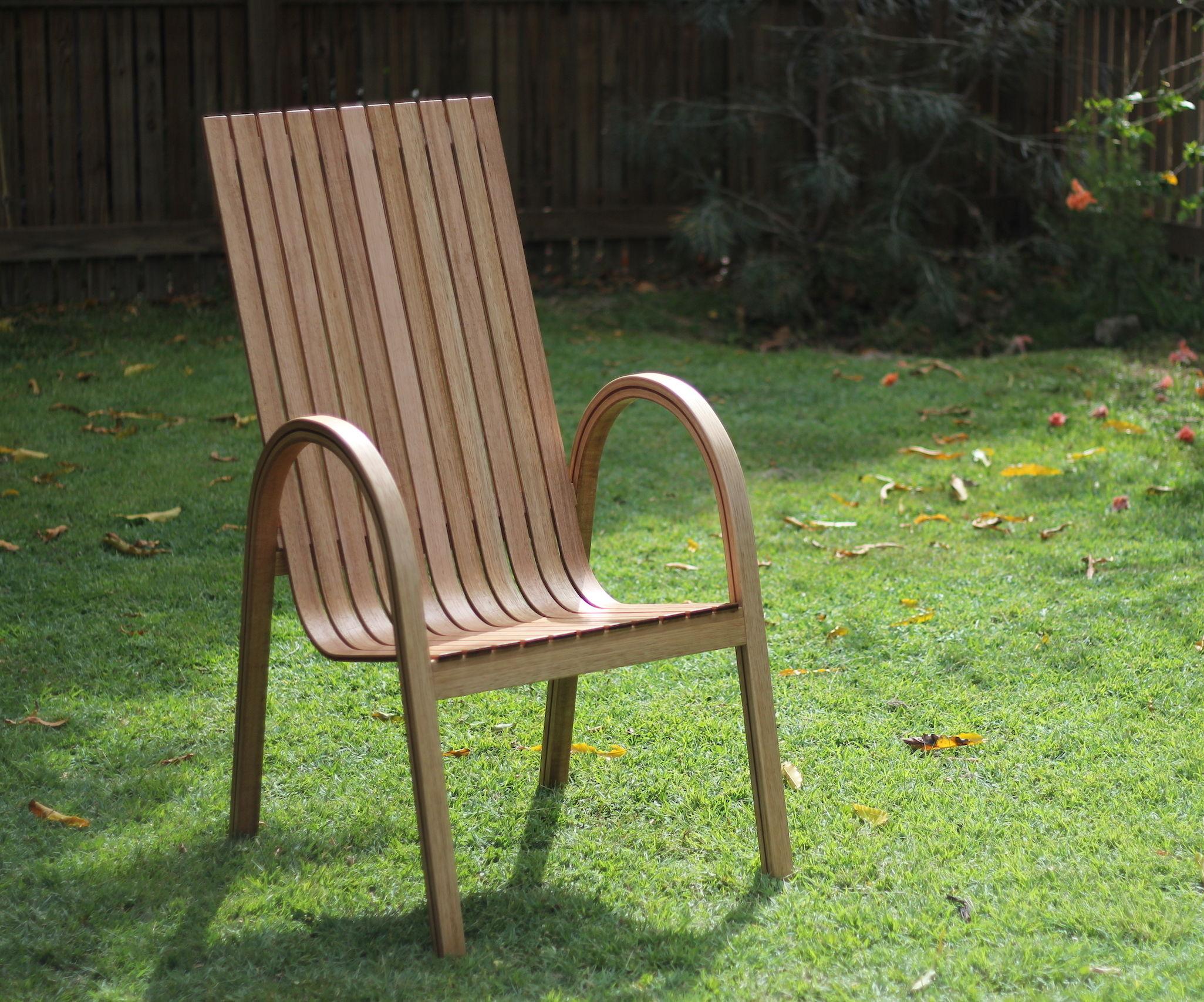 Modern Steam Bent Chair
