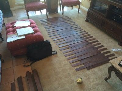 Arrange on Floor