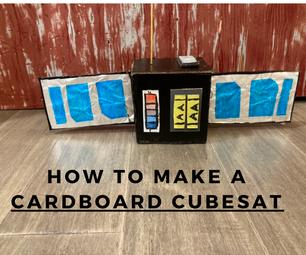 Cardboard CubeSat