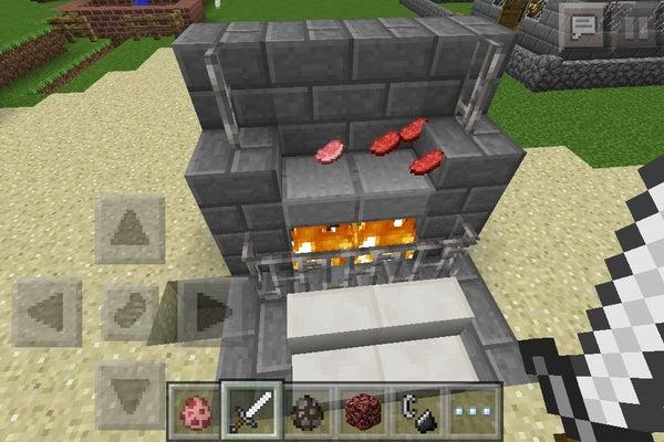 Minecraft PE Stove