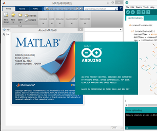 Reading RPM From Arduino-based IR Tachometer With MATLAB GUI