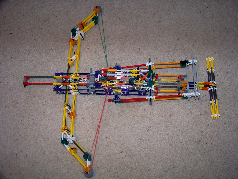 Knex Chu-ko-nu or Repeating Crossbow