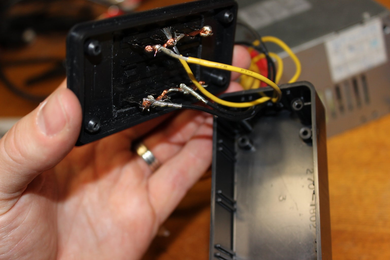 Wiring and Soldering the Connections to the Power Supply