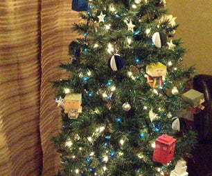 Doctor Who Christmas Tree