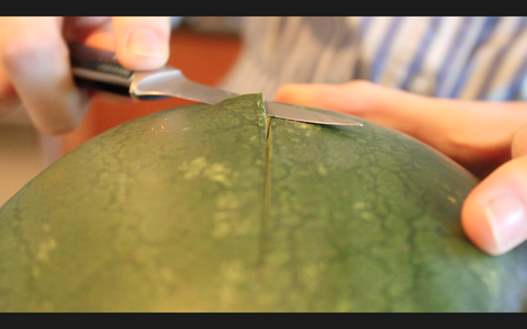 Peel the Green Skin Off of the Watermelon