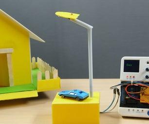 使用LDR或光传感器的自动路灯