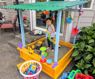 How I Built This Sand Box for My Son on a $150 Budget